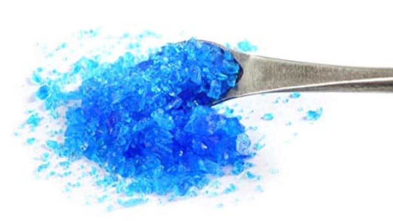 Propiedades Del Sulfato De Cobre Polvo Azul Cristalino